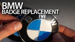 replacing bmw bonnet badge emblem