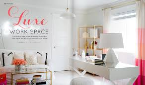 workspace inspiration design inspiration pink and gold home office u2013 urban nesting