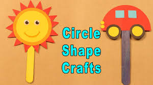 circle shape crafts crafts for kids summer special easy paper