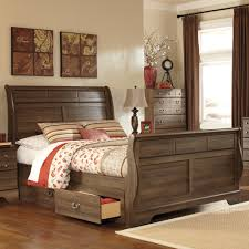 ashley furniture allymore sleigh bedroom set best priced quality