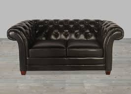 Black Leather Chesterfield Sofa Black Leather Collection Split Sofa