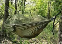 hammock 2 person camping jungle hammock with screen mosquito net