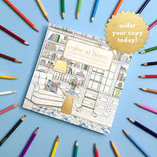home interior books color at home interior decor coloring book for adults