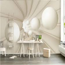 Dining Room Wall Murals Online Get Cheap Abstract Wall Mural White Aliexpress Com