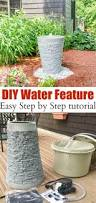 garden water features diy projects home outdoor decoration