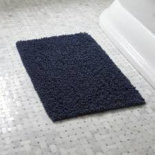 Navy Bath Mat Loop Midnight Bath Rug In Bath Rugs Reviews Crate And Barrel