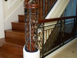 Metal Stair Banister Metal Staircase Railing Design For Elegance Home Decorations Insight