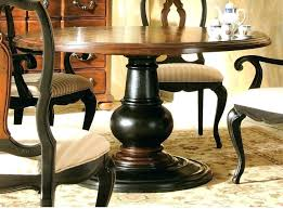 Round Pedestal Dining Table With Extension Leaf Pedestal Dining Table With Tile Top Butterfly Leaf Double