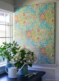Hanging Canvas Art Without Frame Make Easy Diy Art With A Canvas Stretcher Frame And Pretty Fabric