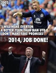 Funny Everton Memes - how david moyes became the internet s favourite whipping boy