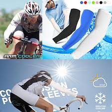 Cool Arm Sleeves - qoo10 1pair cooling sport skins arm sleeves sun protective uv