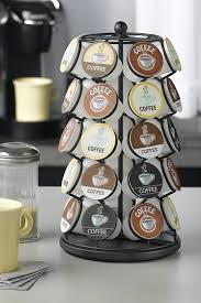 black friday k cup deals amazon com k cup carousel holds 35 k cups in black keurig