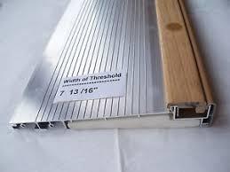 Wooden Exterior Door Threshold Exterior Door Threshold Inswing 7 13 16 Wide 36 Mill