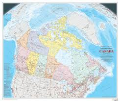 Road Map Of Canada by The Glare Of Ice Thoughts On The New National Atlas Of Canada