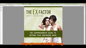 the ex ex factor guide review will it work or is it a rip off