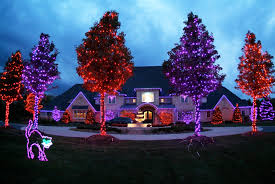 halloween tree decorating ideas amusing indoor christmas decorations with garland f lights on