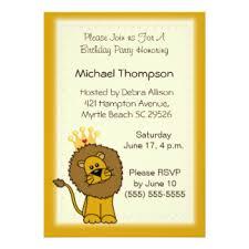 lion king invitations u0026 announcements zazzle