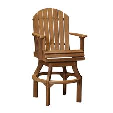 swivel captains chair luxcraft poly adirondack swivel chair hostetler u0027s furniture