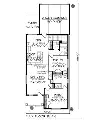 bungalow style floor plans bungalow style house plan 2 beds 2 00 baths 1250 sq ft plan 70 963