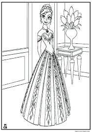 frozen coloring pages free disney