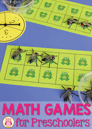math games for preschoolers a ten frame game that kids love to