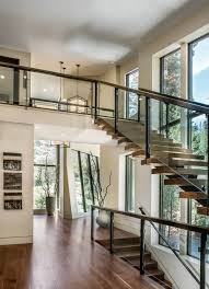 modern design house freeman residence by lmk interior design interiors staircases