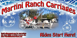 2016 private holiday party carriage rides martini ranch carriages
