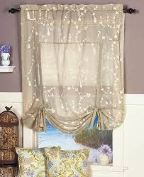 Tie Up Curtains Sheer Tie Up Curtains Curtains Ideas