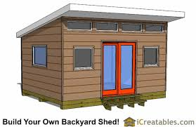 Ideas Shed Door Designs 12x16 Studio Shed Plans Center Door