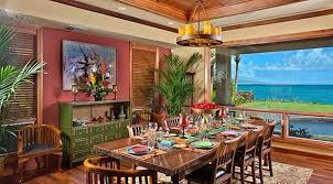 tropical dining room tropical dining room