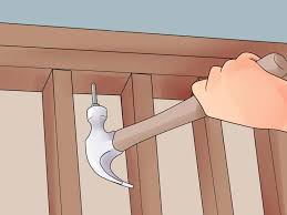 How To Frame A Door Opening 3 Ways To Frame A Wall Wikihow