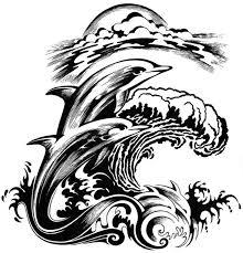 terrific dolphin tattoo designs for girls picsmine