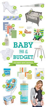 13 Newborn Essentials Baby Must by A List Of Budget Bare Essentials Needed For Babies Bare