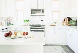 benjamin moore simply white kitchen with clean lines home bunch
