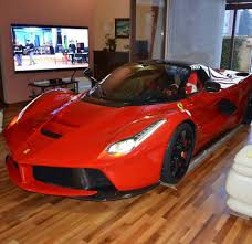 laferrari crash updated laferrari owner keeps his car in the living room