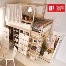 Loft Bed With Closet Underneath Montana Loft Beds With Desk And Closet Underneath Are Gami Brand