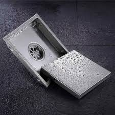 aliexpress com buy tile insert square floor drain waste grates