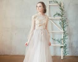 wedding dress etsy boho wedding dress teona bohemian wedding dress