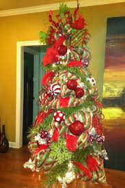 beautifully decorated trees tree with