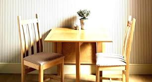 drop leaf table with folding chairs stored inside drop leaf dining table with folding chairs chic drop leaf dining