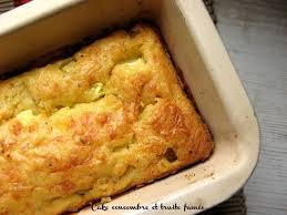 cuisiner concombre cake au concombre et à la truite fumée gourmandizzz et compagnies