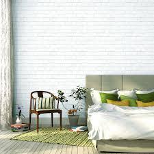 tempaper white brick wallpaper br096 the home depot