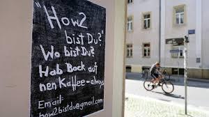 K Hen Aktion Wenn Plakate Fragen Fragen Neustadt Geflüster