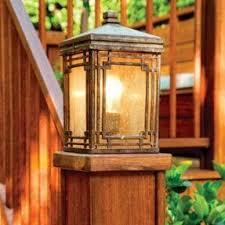 lantern post light foter