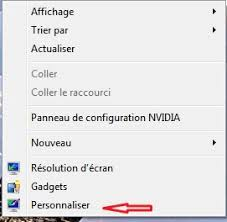 changer l image du bureau windows 7 vista changer la taille et la de windows
