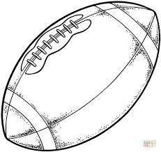 Typical Modern American Football Coloring Page Free Printable Football Coloring Page