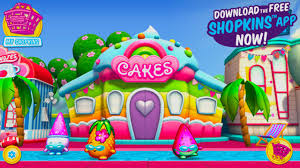 cake shop shopkins welcome to shopville rainbow kate s cake shop summer app