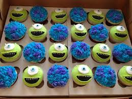 monsters cupcakes easter holiday monsters