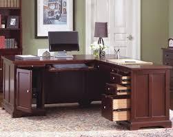 Space Saving Home Office Desk Home Office Inspiring L Shaped Home Office Desks For Proper Corner