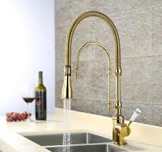Gold Kitchen Sink Aliexpress Buy European Style Brass Gold Chrome Finished